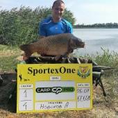 Июльский карп с турнира Sportex one