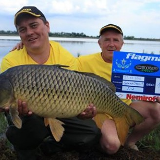 Карп 11.78 кг, пойманный на бойл КАЛЬМАР•КЛЮКВА>