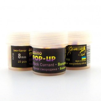 Amino POP-UP two-flavor BLACK CURRANT•BANANA (ЧЕРНАЯ СМОРОДИНА•БАНАН) Ø8 мм