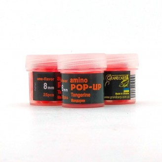 Amino POP-UP one-flavor TANGERINE (МАНДАРИН) Ø8 мм