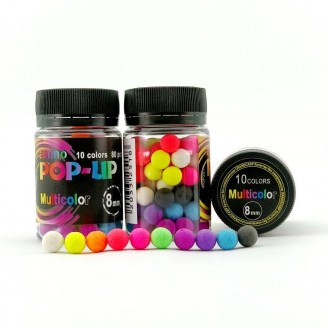 Amino POP-UP Multicolor 10 colors Ø8 мм