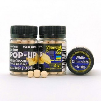Amino POP-UP one-flavor WHITE CHOCOLATE (БIЛИЙ ШОКОЛАД) mix size
