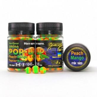 Amino POP-UP two-flavor PEACH•MANGO (ПЕРСИК•МАНГО) mix size