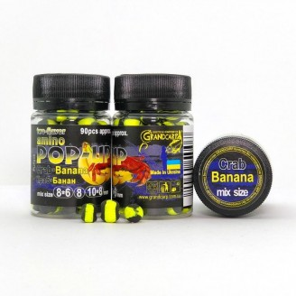 Amino POP-UP two-flavor CRAB•BANANA (КРАБ•БАНАН) mix size