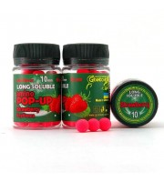 Long Soluble Amino POP-UP one-flavor STRAWBERRY (КЛУБНИКА) Ø10 мм