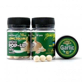 Long Soluble Amino POP-UP one-flavor GARLIC (ЧАСНИК) Ø10 мм