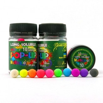 Long Soluble Amino POP-UP Multicolor 10 colors Ø10 мм