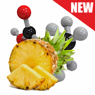 Soluble amino POP-UP two-flavor PINEAPPLE•N-BUTYRIC ACID (АНАНАС•МАСЛЯНАЯ КИСЛОТА) Ø12 мм
