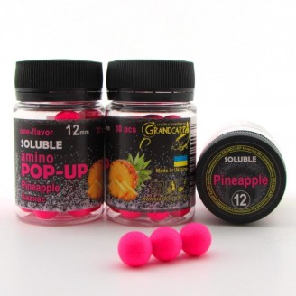 Soluble amino POP-UP one-flavor PINEAPPLE (АНАНАС) Ø12 мм