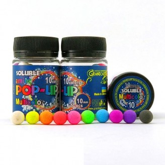 Soluble Amino POP-UP Multicolor 10 colors Ø10 мм