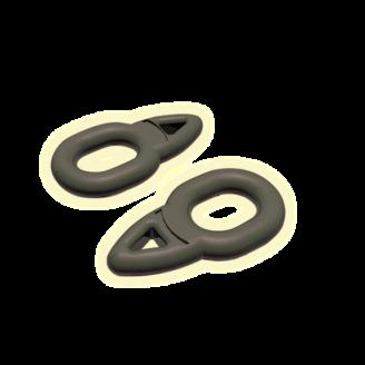 Кольцо для скользящей оснастки овальное