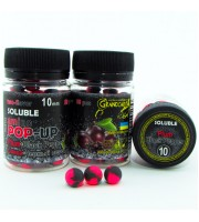 Soluble amino POP-UP two-flavor PLUM•BLACK PEPPER (СЛИВА•ЧЕРНЫЙ ПЕРЕЦ) Ø10 мм
