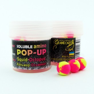 Soluble amino POP-UP two-flavor SQUID•OCTOPUS (КАЛЬМАР•ОСЬМИНОГ) Ø10 мм