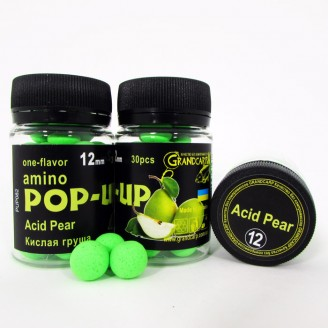 Amino POP-UP one-flavor ACID PEAR (КИСЛАЯ ГРУША) Ø12 мм