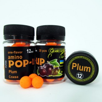 Amino POP-UP one-flavor PLUM (СЛИВА) Ø12 мм