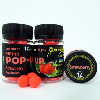Amino POP-UP one-flavor STRAWBERRY (КЛУБНИКА) Ø12 мм