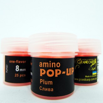 Amino POP-UP one-flavor PLUM (СЛИВА) Ø8 мм