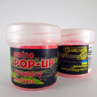 Amino POP-UP one-flavor STRAWBERRY (КЛУБНИКА) Ø10 мм