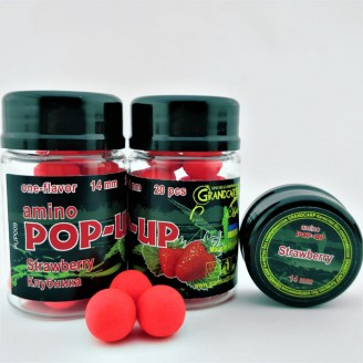 Amino POP-UP one-flavor STRAWBERRY (КЛУБНИКА) Ø14 мм