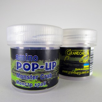 Amino POP-UP one-flavor MONSTER CRAB (МОНСТР КРАБ) Ø10 мм