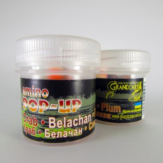 Amino POP-UP three-flavor CRAB•BELACHAN•PLUM (КРАБ•БЕЛАЧАН•СЛИВА) Ø10 мм
