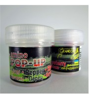 Amino POP-UP three-flavor LIVER•PEPPER•STRAWBERRY (ПЕЧІНКА•ПЕРЕЦЬ•ПОЛУНИЦЯ) Ø10 мм