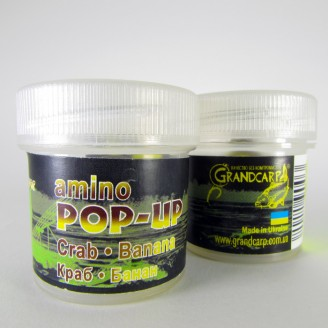 Amino POP-UP two-flavor CRAB•BANANA (КРАБ•БАНАН) Ø10 мм