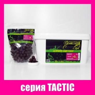Бойли прикормочні розчинні КРЕВЕТКА•СПЕЦІЇ серiя TACTIC Ø20 мм