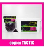 Бойлы прикормочные растворимые КАЛЬМАР • КЛЮКВА серия TACTIC Ø20 мм
