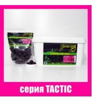 Бойлы прикормочные растворимые КАЛЬМАР • КЛЮКВА серия TACTIC Ø24 мм