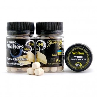 Amino WAFTERS WHITE CHOCOLATE (БIЛИЙ ШОКОЛАД) 11•9 мм